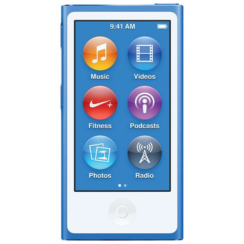 Apple iPod nano 7th Generation 16GB - Blue
