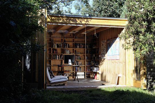 Office Sian's Backyard Office Shed