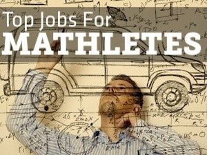 Math jobs are in hot demand. Would be great to post a list of these in the classroom!