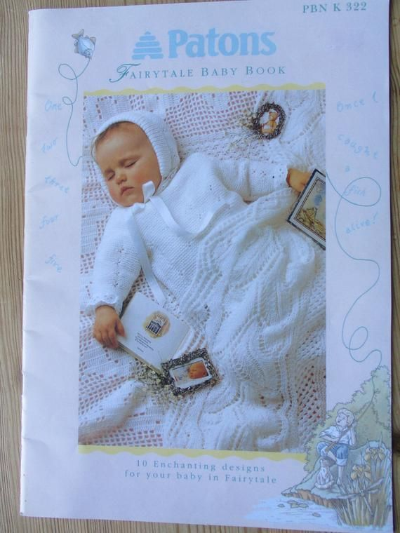 4ac8dde4481f Patons Fairytale Baby Book