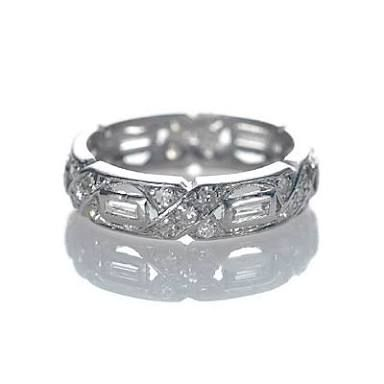 Image result for art deco wedding band