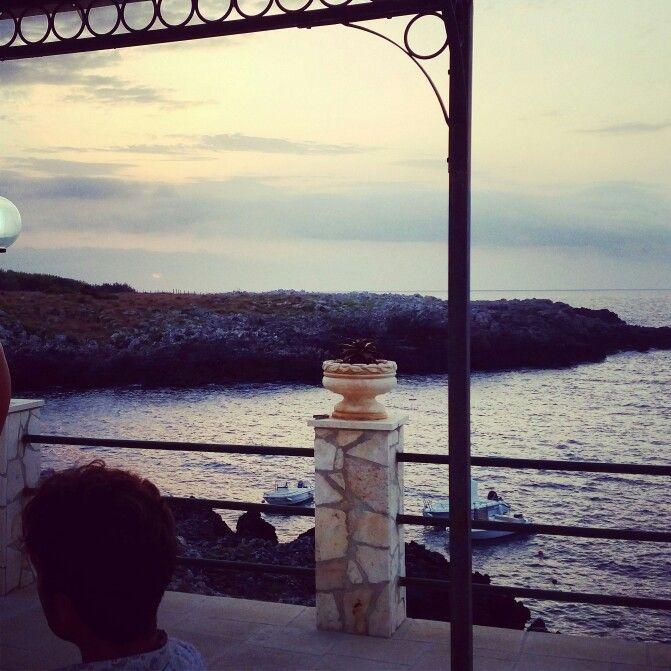 Porto Badisco Salento Alba di un nuovo giorno