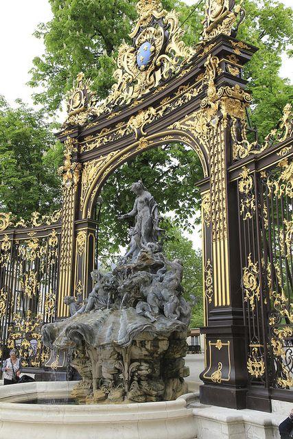 .Nancy, Place Stanislas, Fountain of Amphitrite