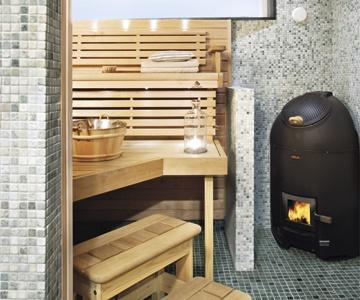 Soapstone sauna