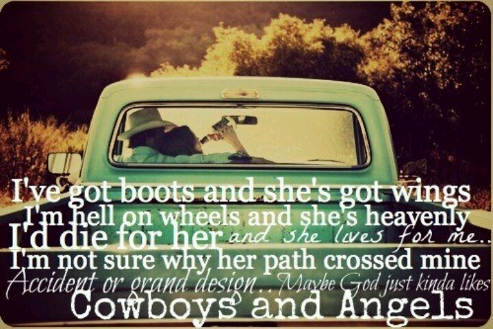 Country love songs quotes pinterest cowboys cowboys and angels and love for Living in a box room in your heart lyrics