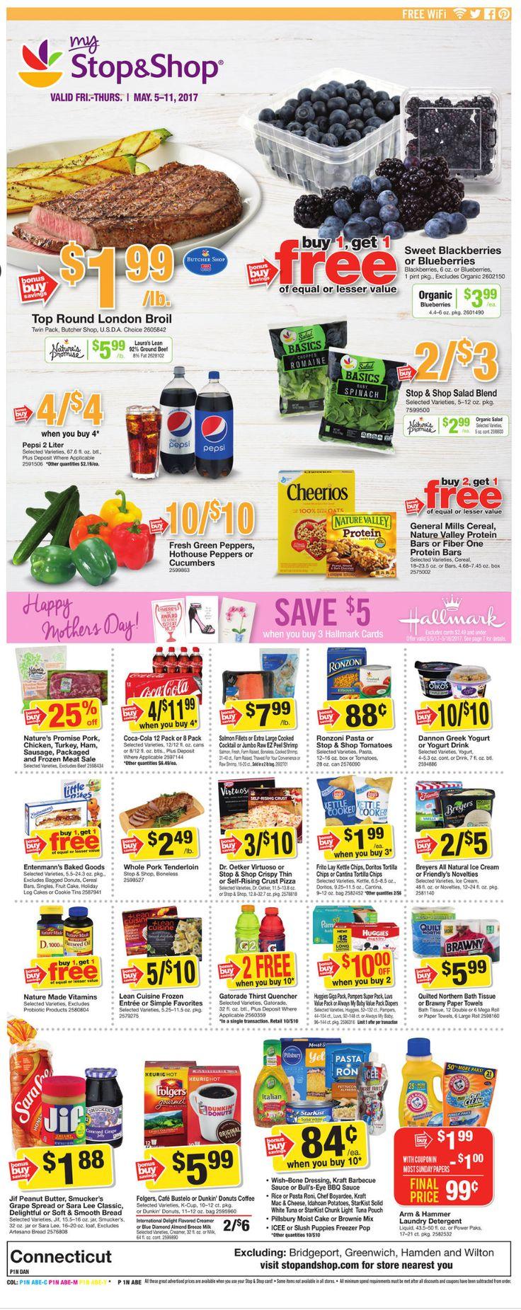 Stop and Shop Circular May 5 - 11, 2017 - http://www.olcatalog.com/grocery/stop-and-shop-circular.html