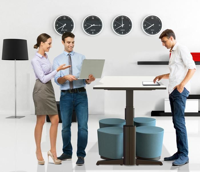 Paradigm Sit Stand | UCI Electric height-adjust table. Australian designed and manufactured. GECA Certified. AFRDI Blue Tick certified. uci.com.au