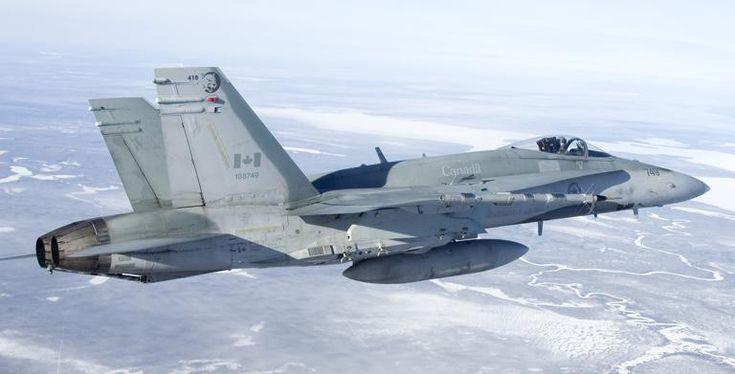 Kanadyjskie CF-188 Hornet przylecą do Łasku - DziennikZbrojny.pl