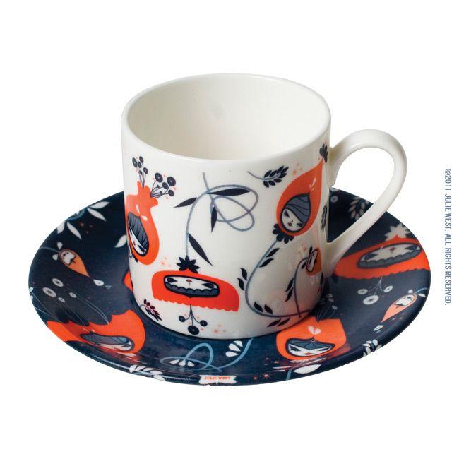 Julie West Tea Set