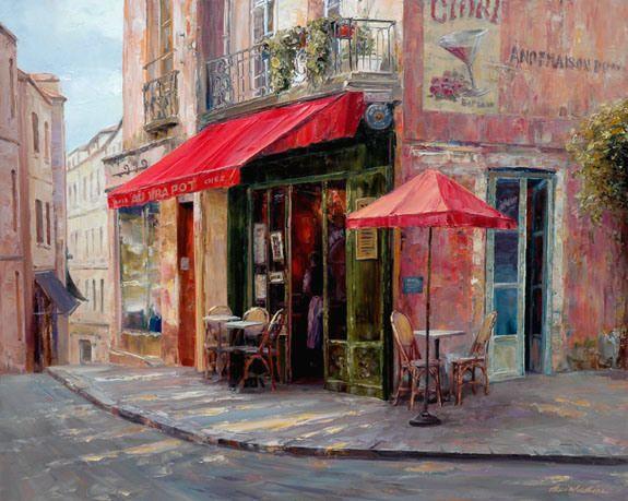 LiuH-Hillside Cafe-24x30