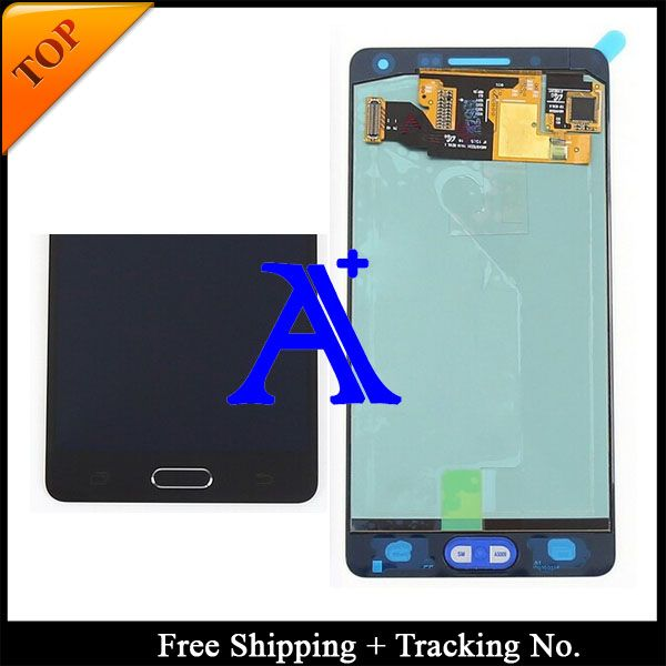 Free Shipping + Tracking No. 100% Orignal For Samsung Galaxy A5 A5000 LCD Digitizer Assembly with home button - Blue/White/Gold