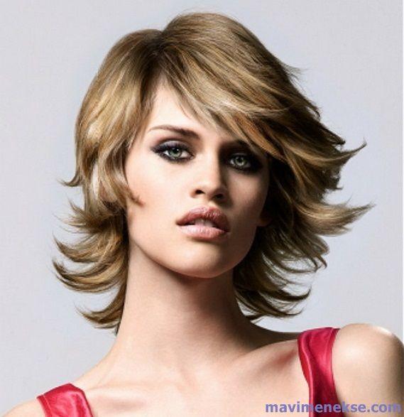 Katlı Saç Modelleri Örnek Resimleri