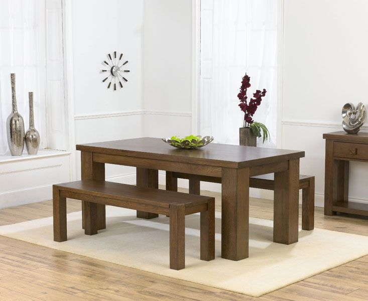 Futuristic Dining Sets With Benches For Bigger Accommodation Great Wooden Style White Interior SQUAR ESTATE Room