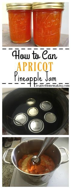 Easy recipe for canning apricot pineapple jam.
