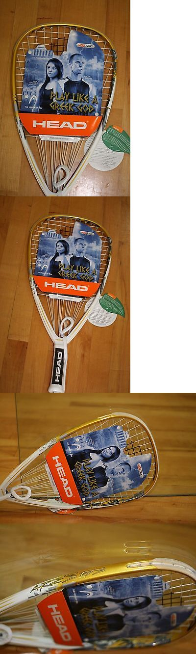 Racquetball 62168: Head Racquetball Racquet Ares 175G White Gold BUY IT NOW ONLY: $119.95