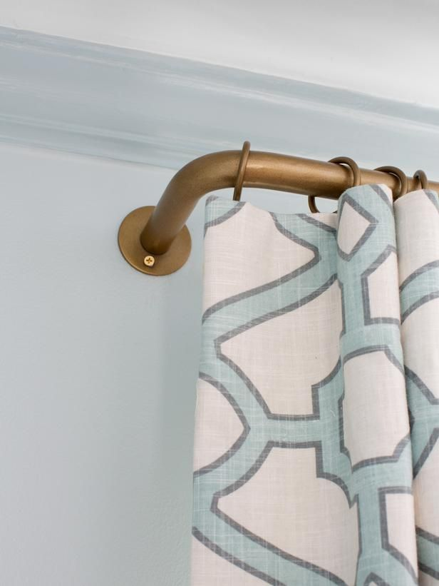 Drapery Rods - Choosing the Best Window Treatments for Your Home on HGTV