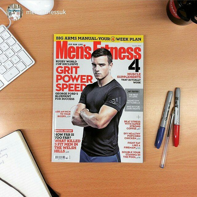 #Repost @mensfitnessuk New issue's just landed in the office. We're buzzing to see MF cover man @george_fordy in action at the #RWC2015 this month especially after Saturday's strong showing and assist for @englandrugby at Twickenham. But spare a thought for the recent @welshrugbyunion injury casualties Leigh Halfpenny and Rhys Webb. Get well soon and good luck to all involved. October 2015 issue is out tomorrow #rugbyfitness #rugbyworldcup #mensfitness #FitForLife  @strider7 beat us to it…