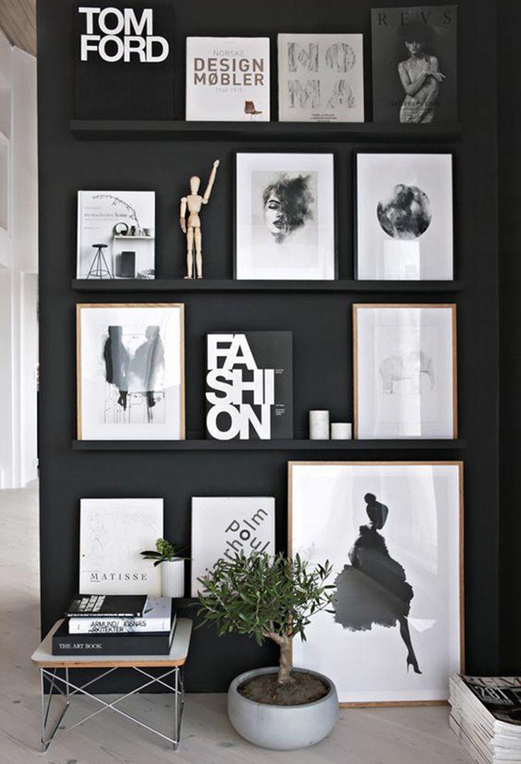 15x spelen met kunstige prints aan de muur