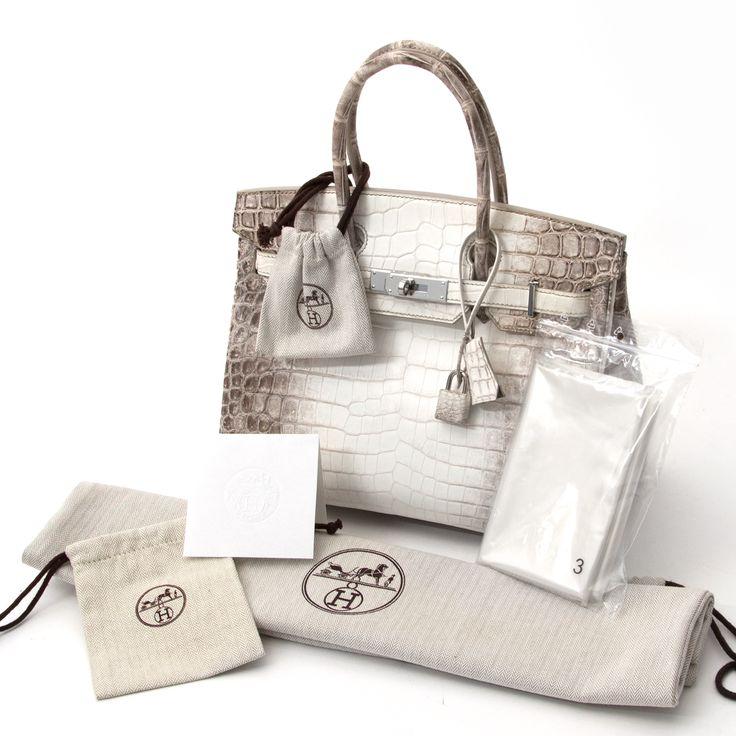 Hermes Himalayan Niloticus Crocodile Birkin Bag, Labellov biedt een veilige en betrouwbare shopping ervaring voor het kopen van preloved luxe handtassen.