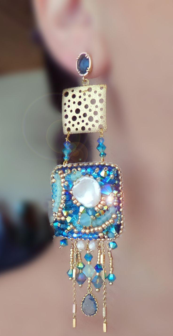 best 25+ diy embroidery earrings ideas on pinterest | diy earrings
