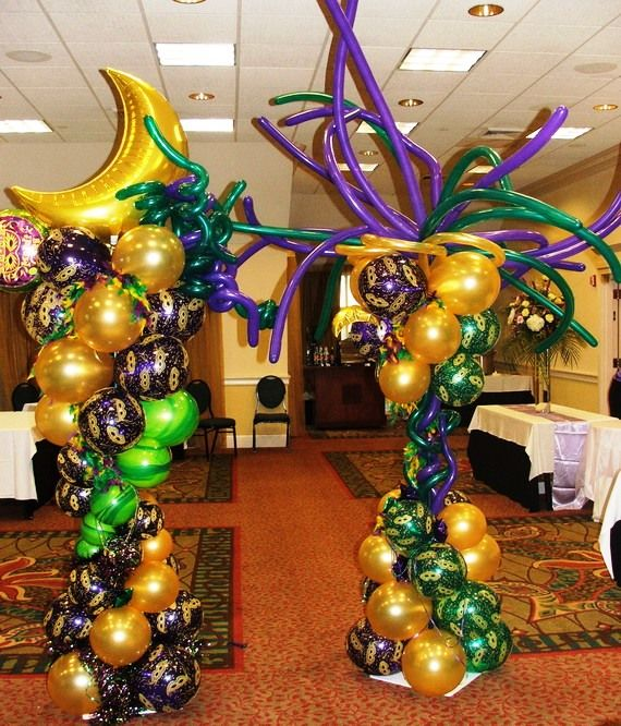 mardi gras party pictures | Mardigras Day Balloons