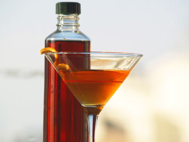 Homemade Sweet Vermouth.  Could be fun to try, but nothing is as easy as just grabbing a bottle of Martini & Rossi.