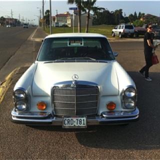1972 Mercedes Benz 4.5 sel