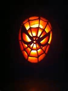 Spiderman Pumpkin Carving Picture
