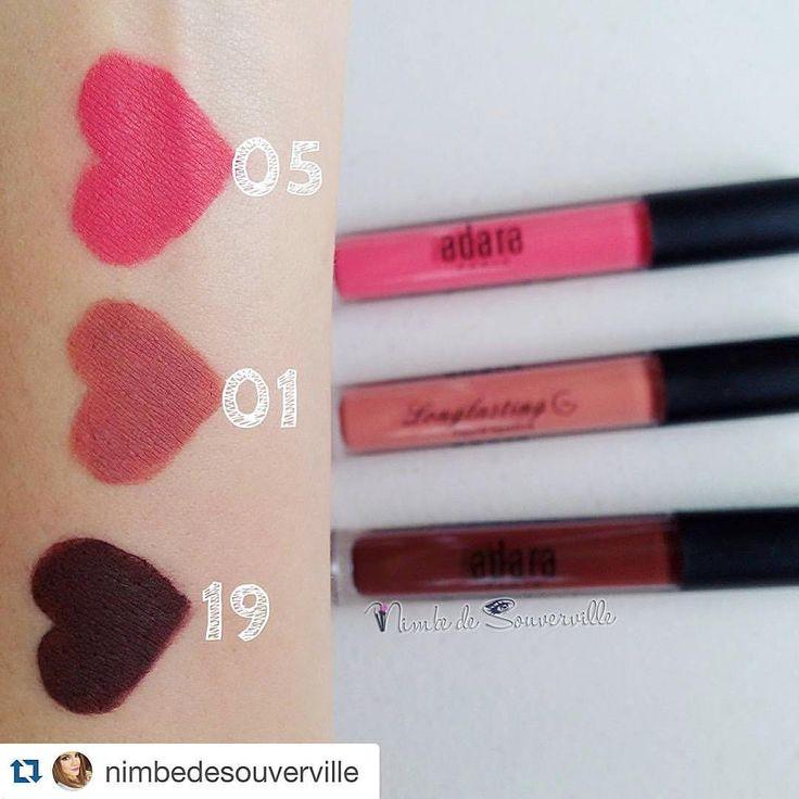 Labiales Indelebles, liquid lipsticks