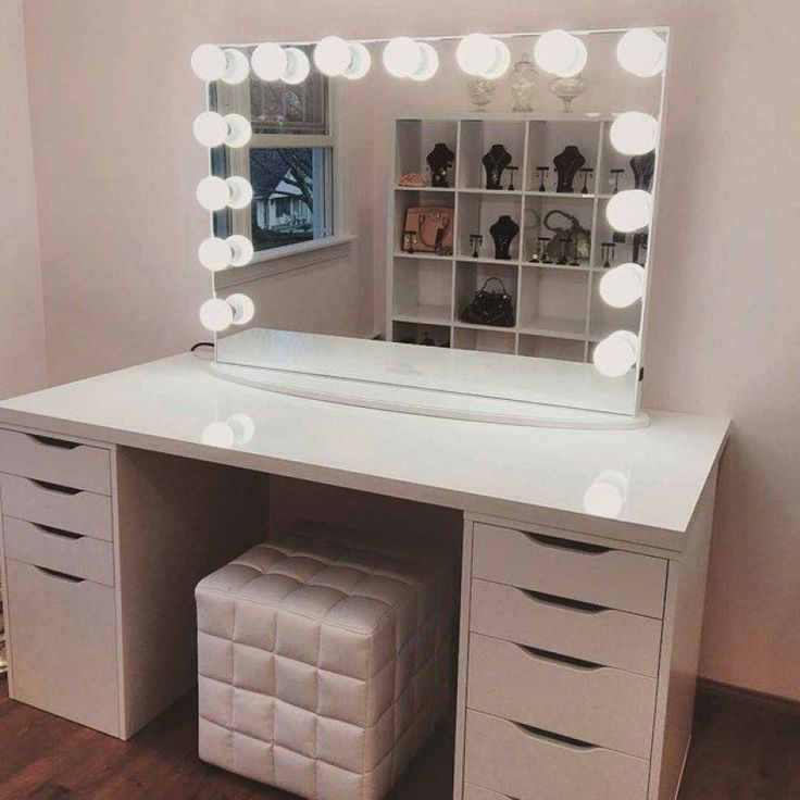 Make Up Dressing Table With Light Every Girl Needs A Range Of