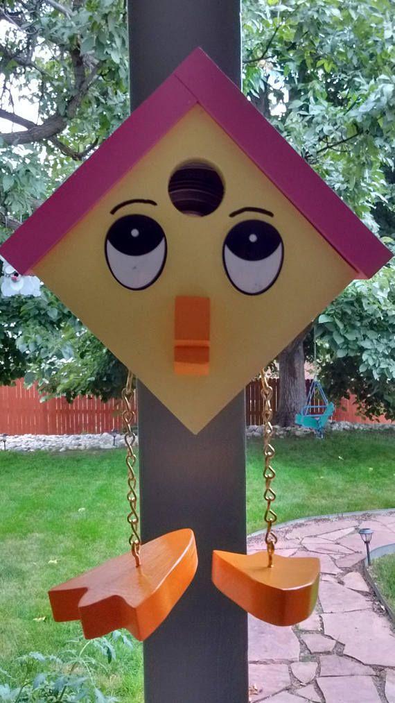 25 unique birdhouses ideas on pinterest birdhouse for Creative birdhouses