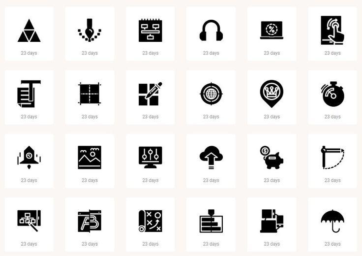 IconBros ofrece cientos de iconos e iconos fuente gratis