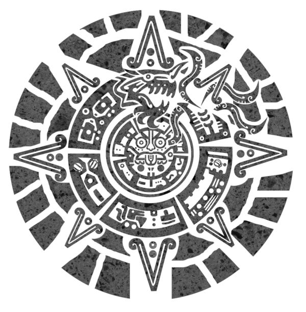 Calendar Head Design : Best ideas about aztec tattoo designs on pinterest