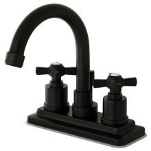 Millennium Centerset Brass Bathroom Faucet   Free Pop Up Drain Assembly  With Purchase