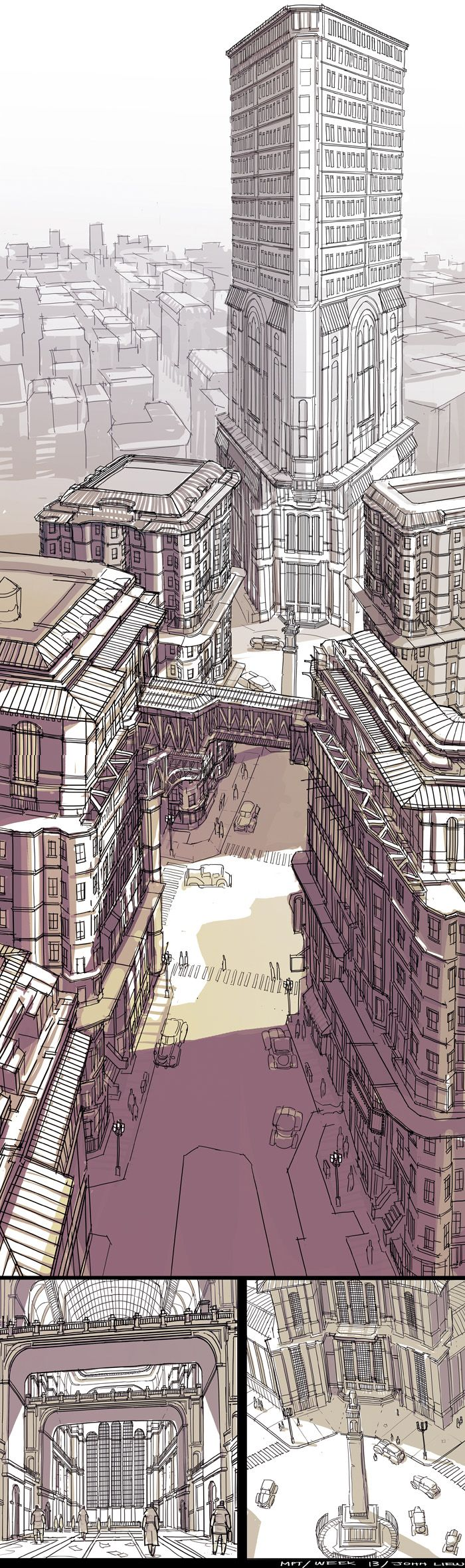 Feng Zhu Design: More Student Work via PinCG.com