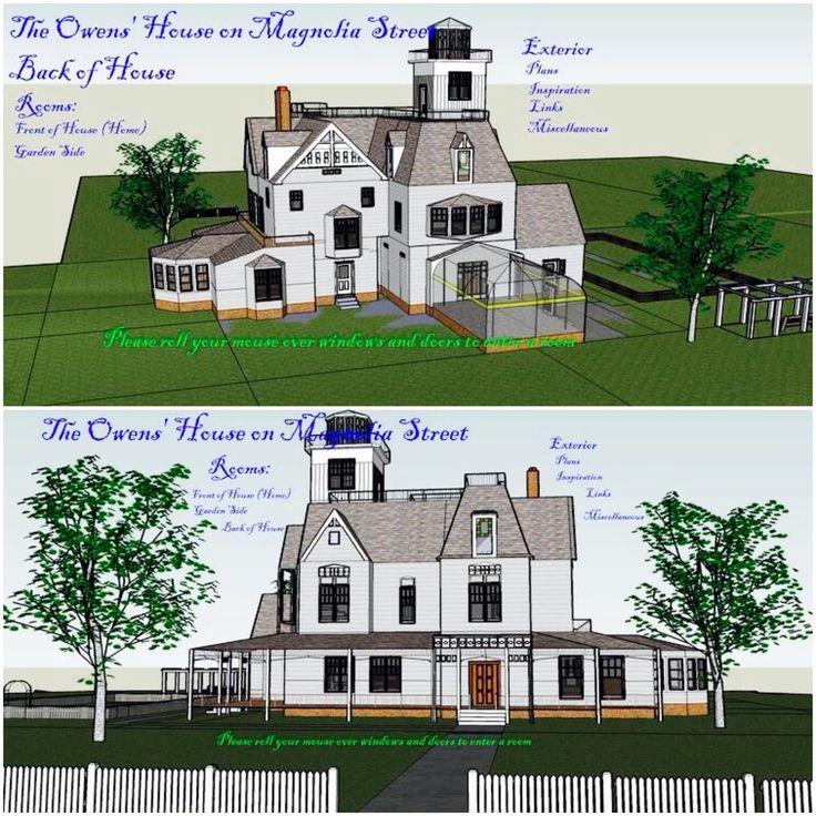Practical Magic House Floor Plan