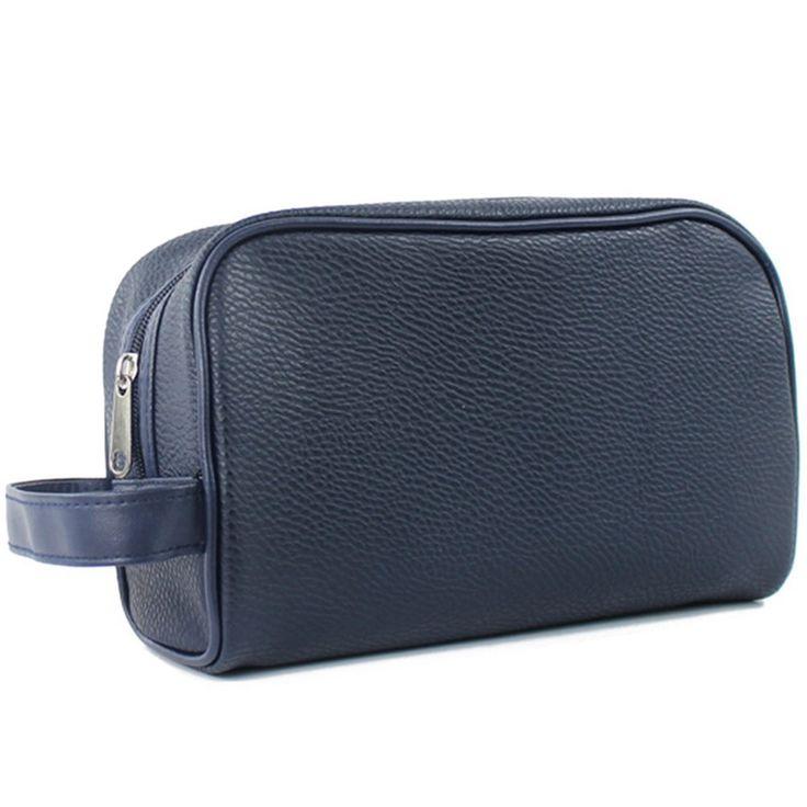 Itraveller New Men Toiletry Bag/Dopp Kit/Shaving Bag/Travel Kit For All Your Toiletries Dark Blue