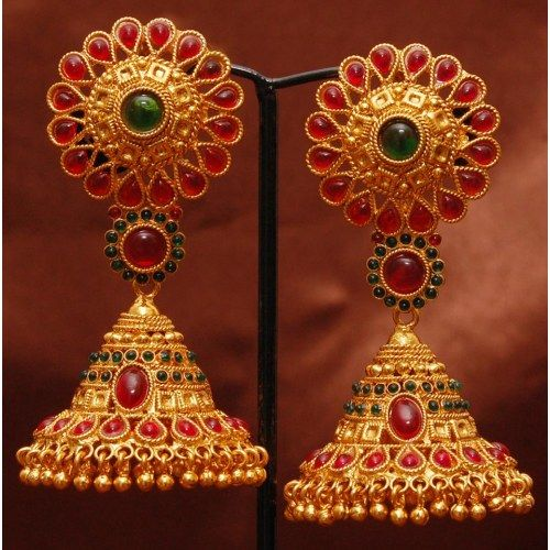 71 best earings images on ethnic jewelry indian