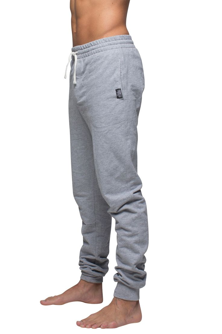 Mens Track Pant Grey Marle from Monsta Surf