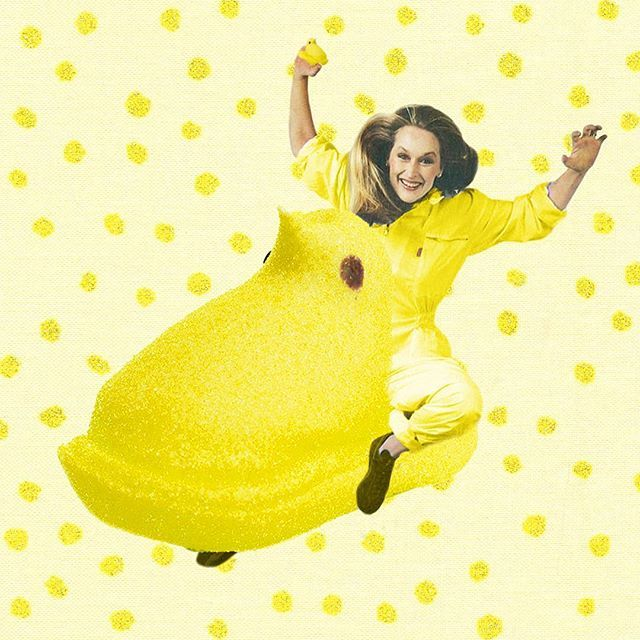 yeah yeah yeah easter isn't for another week but i can't resist a MERYL PEEP…