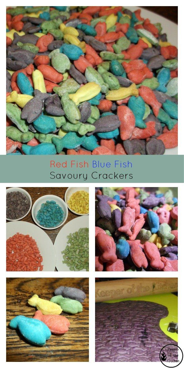 One Fish Two Fish Red Fish Blue Fish – Savoury Crackers