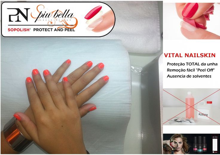 Piu Bella Nails - Verniz Gel, sem quimicos, protecção total, by ProNails