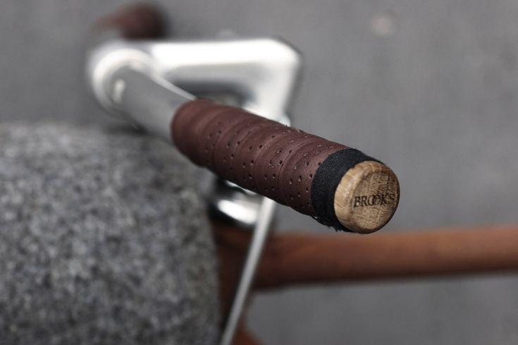 Poignées vélo en cuir | Brooks