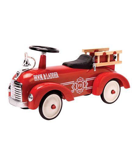 Fire Truck Speedster Ride-On