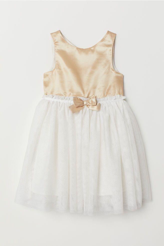 2d7587694c5 Tulle Dress - White - Kids