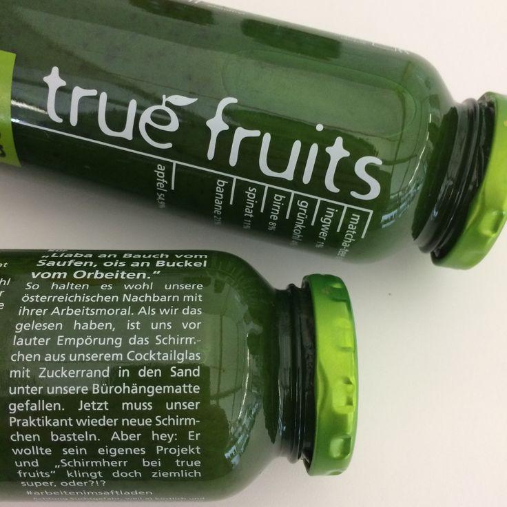 10++ True fruits green smoothie Sammlung