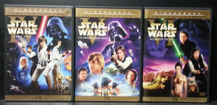 Star Wars Trilogy DVD Set (Widescreen) *Great Condition*