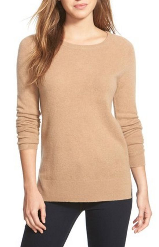 Love this camel colored sweater