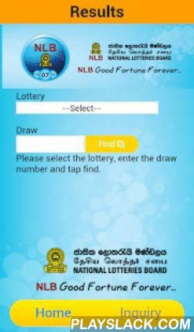 NLB-SL  Android App - playslack.com , National Lotteries Board is the pioneer in the lotteries industry with over 50 years of existence, established in 1963 as a Government institution.