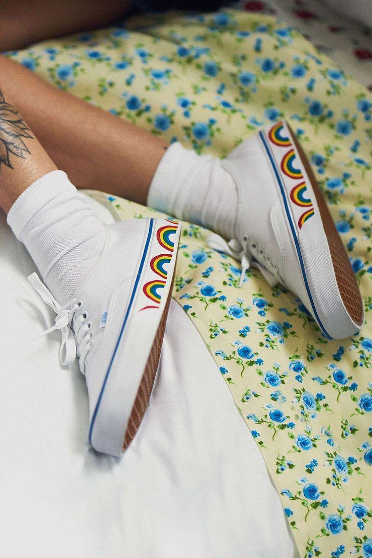 Vans Authentic Rainbow Sole Sneaker